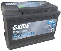 Аккумулятор автомобильный Exide Premium 77 R