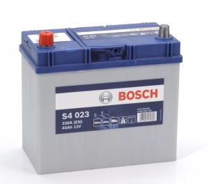 Аккумулятор автомобильный Bosch S4 Asia Silver 45 JL