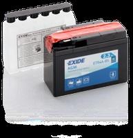 Аккумулятор для мотоциклов Exide AGM 2.3 Ah