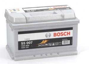 Аккумулятор автомобильный Bosch S5 Silver Plus 74 R