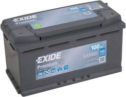 Аккумулятор автомобильный Exide Premium 100 R
