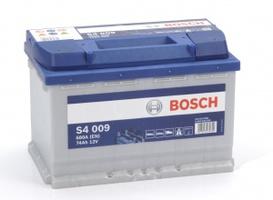 Аккумулятор автомобильный Bosch S4 Silver 74 L