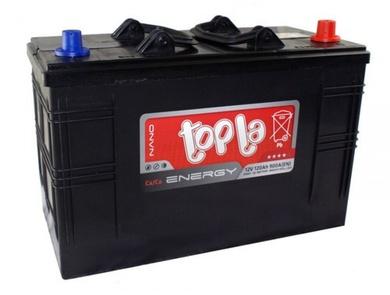 Грузовой аккумулятор 120 TOPLA Energy R+