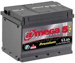 Аккумулятор автомобильный A-mega Premium 63 R low