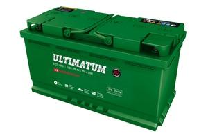 Аккумулятор автомобильный АКОМ ULTIMATUM EFB Евро 95 А/ч