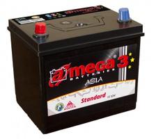 Аккумулятор автомобильный A-mega Standard Asia 100 JL eye