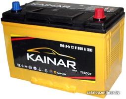 Аккумулятор автомобильный Kainar Asia 100 JR+