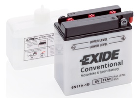 Аккумулятор для мотоциклов Exide 11 Ah