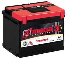 Аккумулятор автомобильный A-mega Standard 50 R