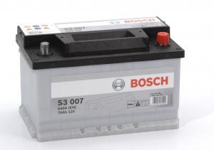 Аккумулятор автомобильный Bosch S3 70 R низк