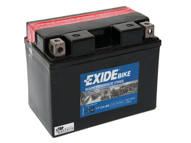 Аккумулятор для мотоциклов Exide LF 9.5 Ah