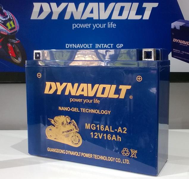 Аккумулятор для мотоциклов Dynavolt DA DB 16AL-A2