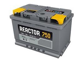 Аккумулятор автомобильный АКОМ 6СТ-75 Реактор Евро