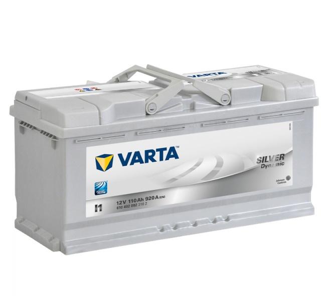 Аккумулятор автомобильный 110 VARTA SILVER DYNAMIK
