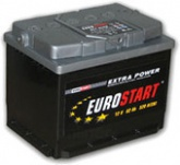 Аккумулятор автомобильный 55 Eurostart Extra Power п.п.