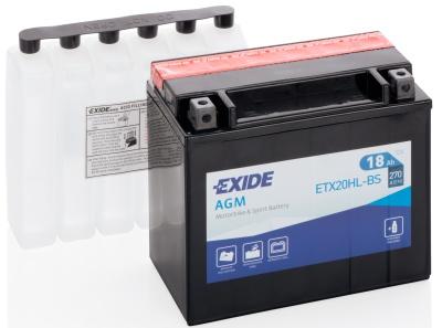 Аккумулятор для мотоциклов Exide AGM 18 Ah