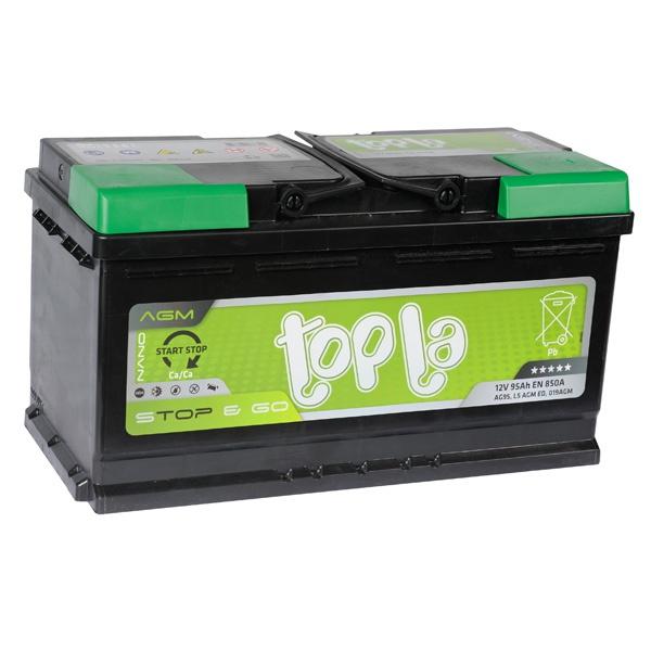 Аккумулятор автомобильный 95 Topla AGM STOP&GO