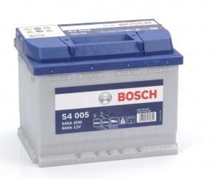 Аккумулятор автомобильный Bosch S4 Silver 60 R