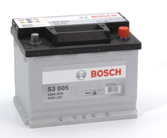 Аккумулятор автомобильный Bosch S3 56 R