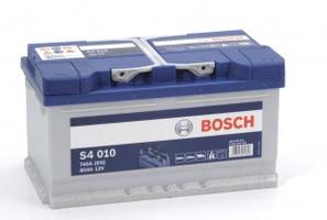Аккумулятор автомобильный Bosch S4 Silver 80 R