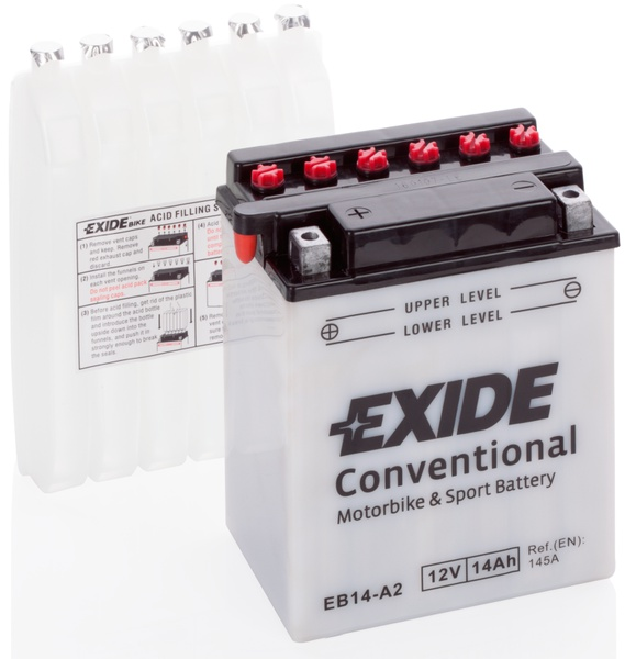 Аккумулятор для мотоциклов Exide LF 14 Ah