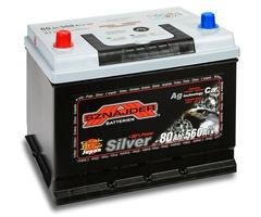 Аккумулятор автомобильный Sznajder Silver Japan [magic eye] 80 JL