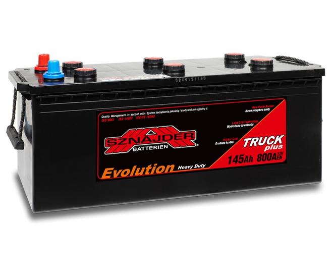 Грузовой аккумулятор Sznajder Truck Freeway HD Evolution 145
