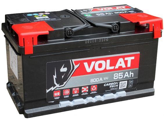 Аккумулятор автомобильный 85  Аh   VOLAT
