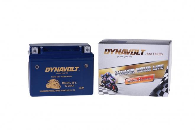 Аккумулятор для мотоциклов Dynavolt DG MG 7A-BS Gel
