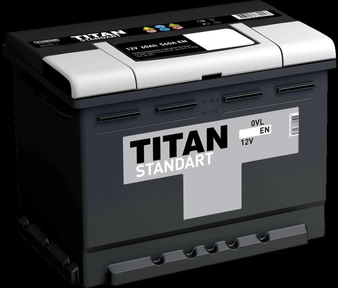 Аккумулятор автомобильный Titan Standart 60 R