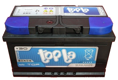 Аккумулятор автомобильный 85 TOPLA TOP