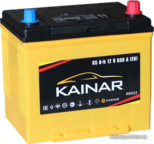 Аккумулятор автомобильный Kainar Asia 65 JR+ с бортом