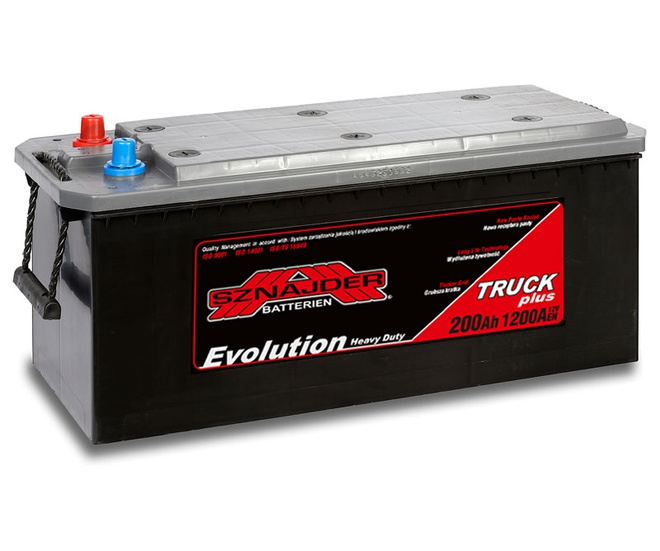 Грузовой аккумулятор Sznajder Truck Freeway HD Evolution 200
