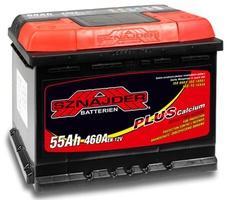 Аккумулятор автомобильный Sznajder Plus 55 R