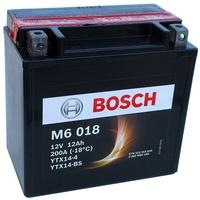 Аккумулятор для мотоциклов Bosch YTX14-BS / YTX14-4 12Ah