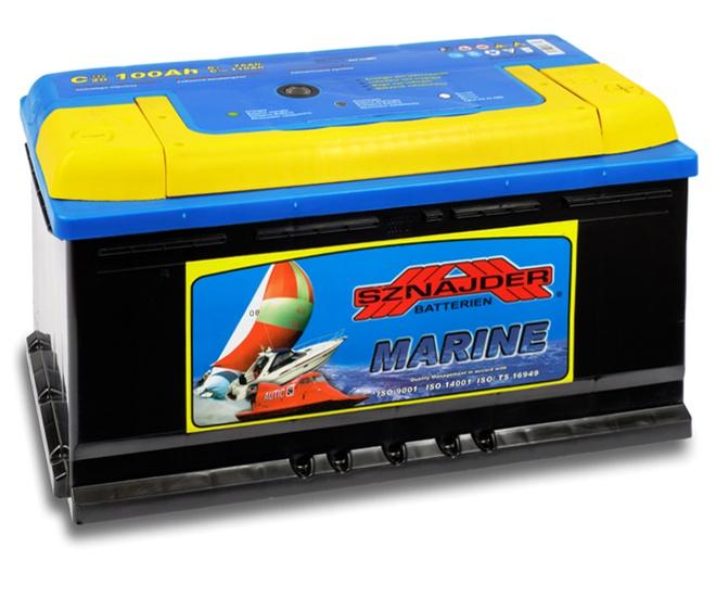 Лодочный аккумулятор Sznajder Marine 100 R