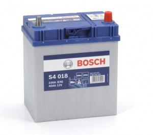 Аккумулятор автомобильный Bosch S4 Asia Silver 40 JR