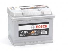 Аккумулятор автомобильный Bosch S5 Silver Plus 63 R