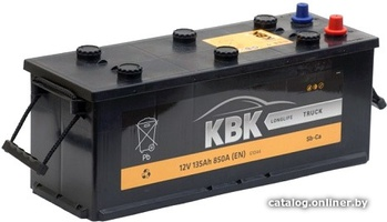 Грузовой аккумулятор KBK 135 L +/-