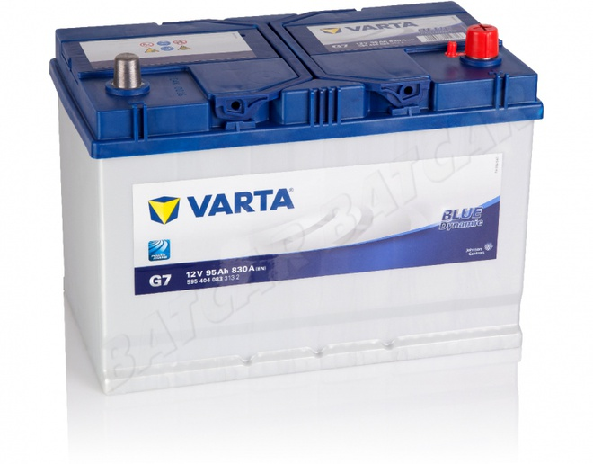 Аккумулятор автомобильный 95 VARTA BLUE DYNAMIK  JAPAN