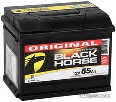 Аккумулятор автомобильный Black Horse 55 R низкий