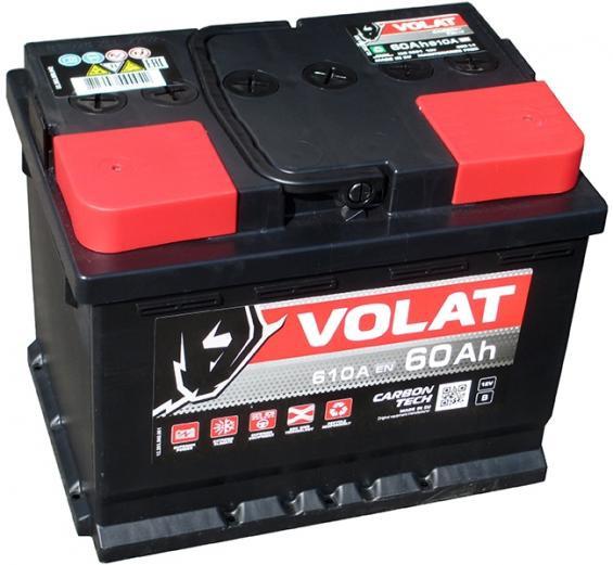 Аккумулятор автомобильный 60 Аh VOLAT