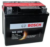 Аккумулятор для мотоциклов Bosch YTZ7S-BS / YTZ7S-4 5 Ah