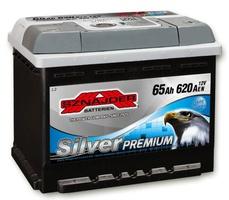 Аккумулятор автомобильный Sznajder Silver Premium [magic eye] 65 L
