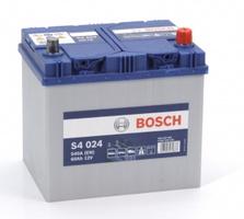 Аккумулятор автомобильный Bosch S4 Asia Silver 60 JR