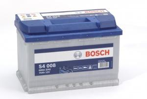 Аккумулятор автомобильный Bosch S4 Silver 74 R