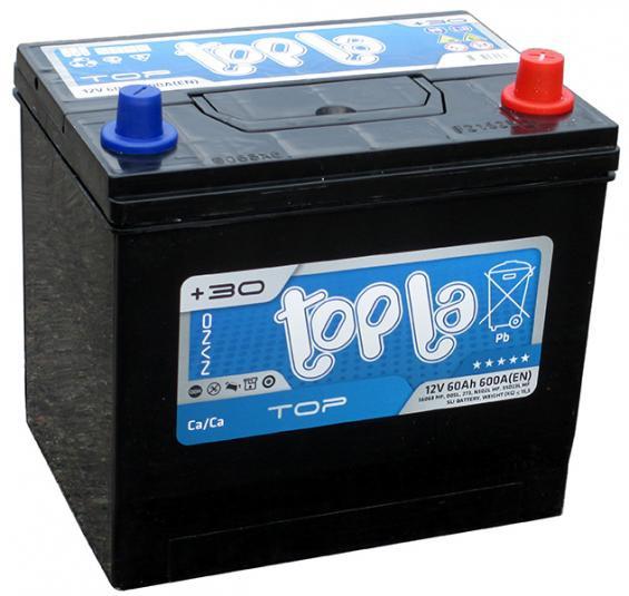 Аккумулятор автомобильный 60 TOPLA TOP Asia R+