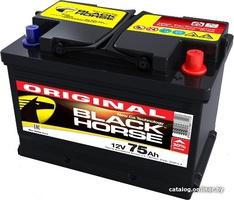 Аккумулятор автомобильный Black Horse 75 L