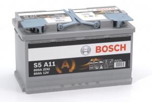 Аккумулятор автомобильный Bosch S5 80 R AGM