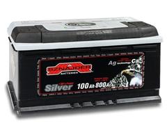 Аккумулятор автомобильный Sznajder Silver [magic eye] 100 R